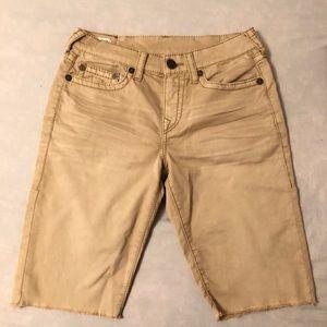 Brown True Religion Shorts Men